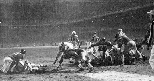 1958 NFL Championship Game The game that changed professional football The Boston Globe