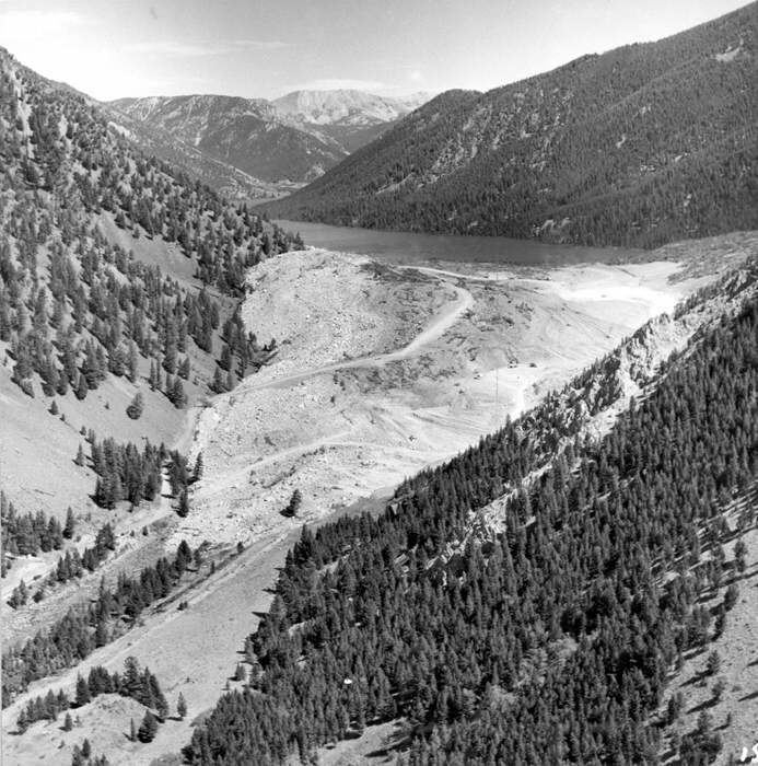 1959 Hebgen Lake earthquake Hebgen Lake Montana Earthquake August 1959 Madison Canyon 1