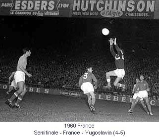 1960 European Nations' Cup Diaporama Football European Nations Cup France Euro 1960