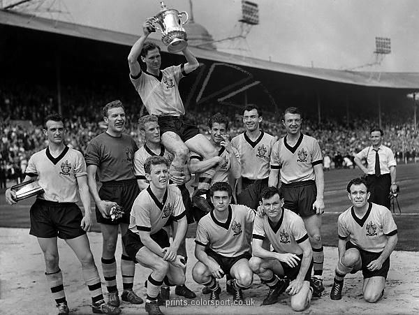1960 FA Cup Final printscolorsportcoukp2101960facupfinalwo