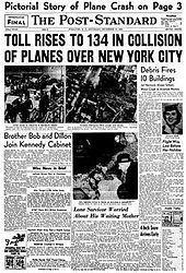 1960 New York mid-air collision 1960 New York midair collision Wikipedia
