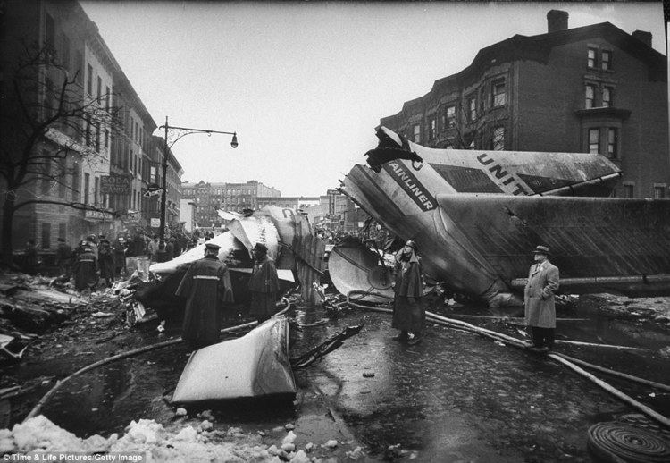 1960 New York mid-air collision Photos of 1960 Brooklyn airline crash that sparked new era of 39black