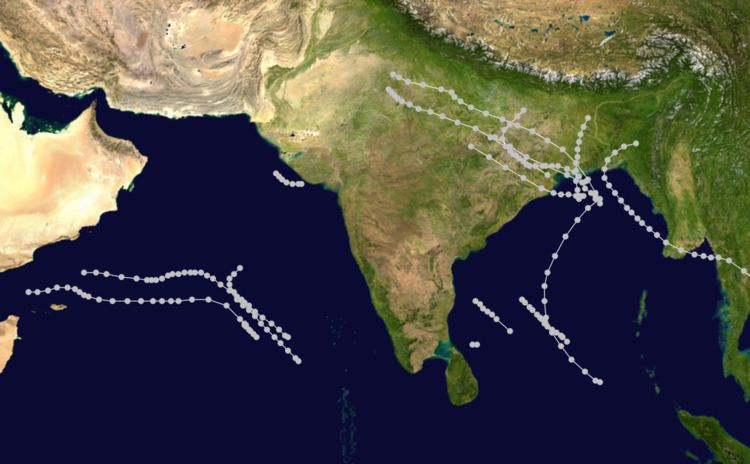 1960 North Indian Ocean cyclone season