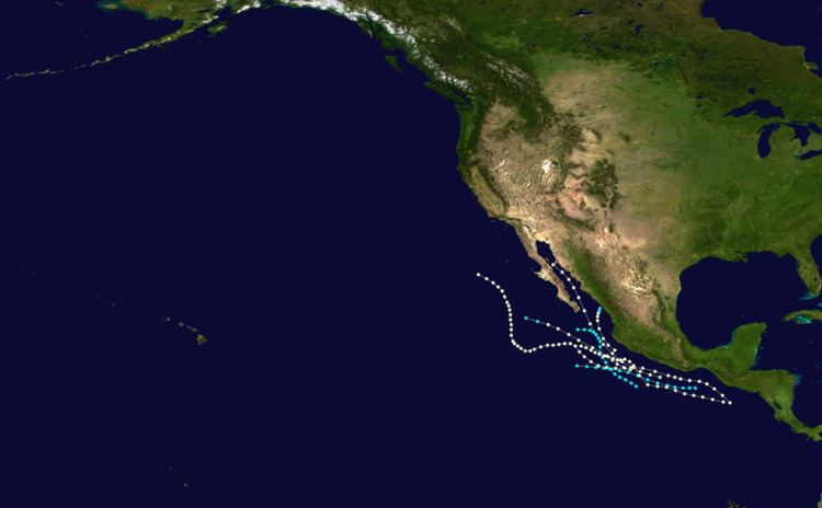 1960 Pacific hurricane season