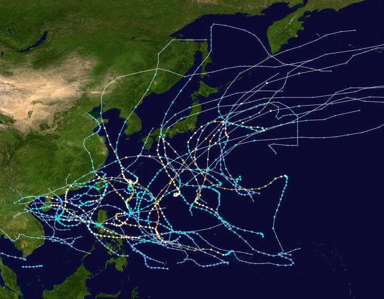 1960 Pacific typhoon season