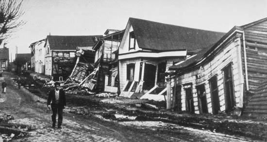 1960 Valdivia earthquake Chile earthquake of 1960 Britannicacom