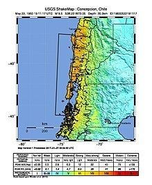 1960 Valdivia earthquake 1960 Valdivia earthquake Wikipedia