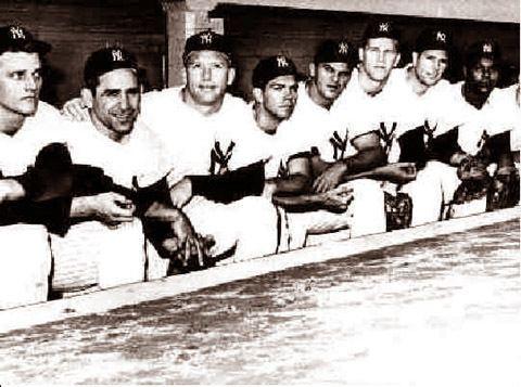 1961 New York Yankees season Vintage Baseball Photo New York Yankees Starting Line Up 1961