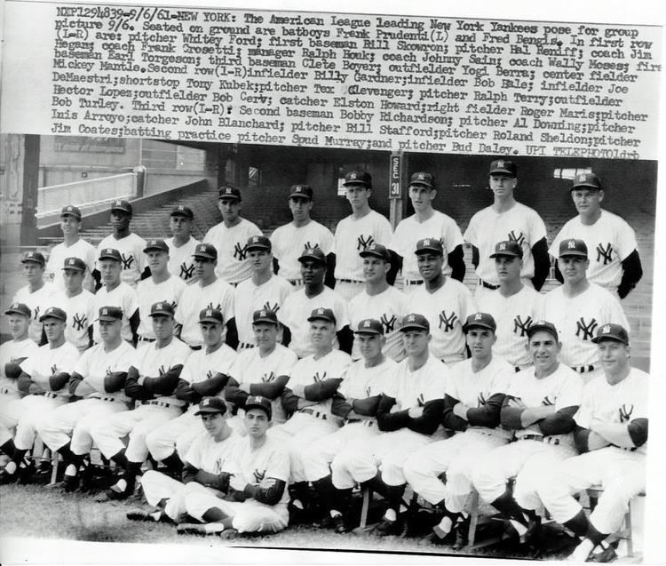 1961 New York Yankees season Steeno Sports Memorabilia Collector and Dealer 1961 New York