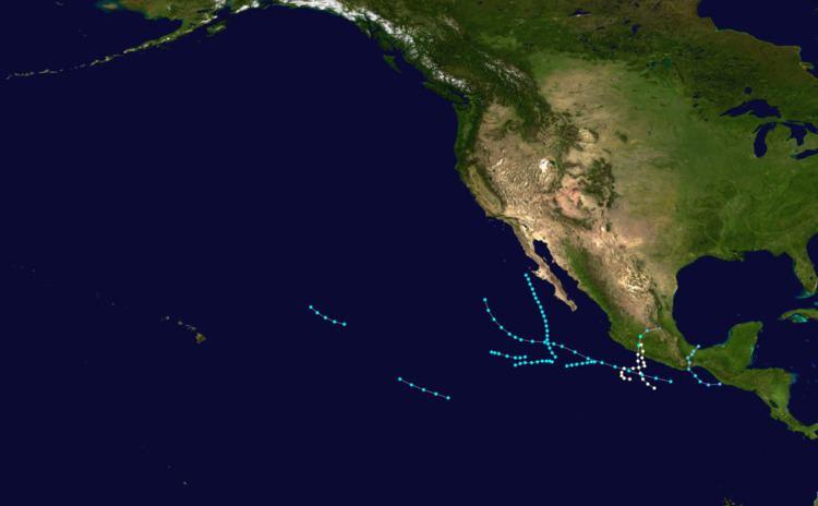 1961 Pacific hurricane season