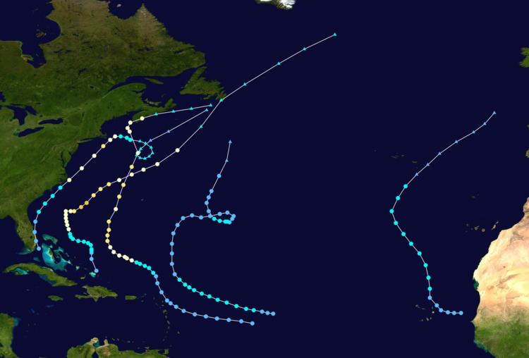 1962 Atlantic hurricane season