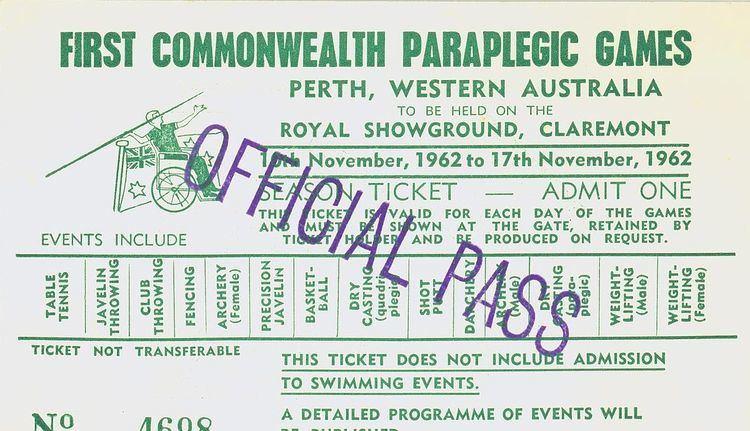 1962 Commonwealth Paraplegic Games