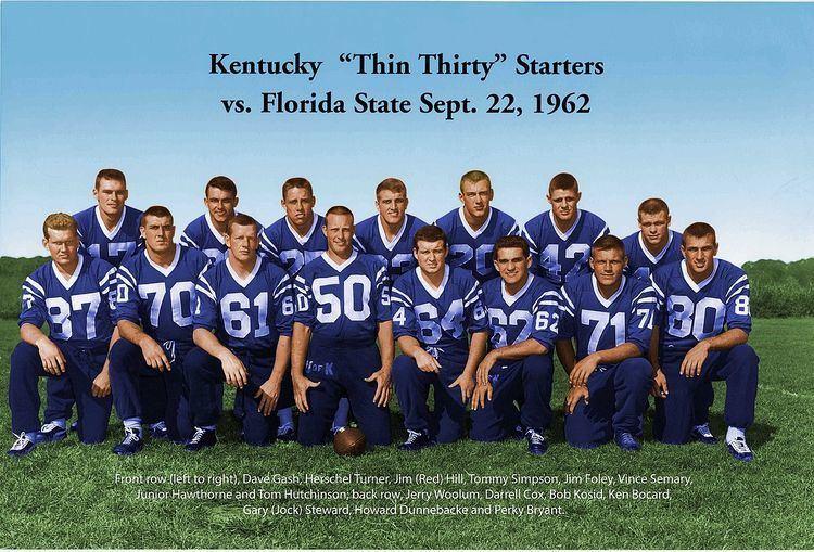 1962 Kentucky Wildcats football team