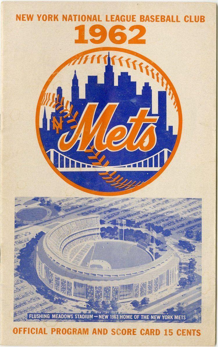 1962 New York Mets season Lot Detail 1962 New York Mets Opening Day Program
