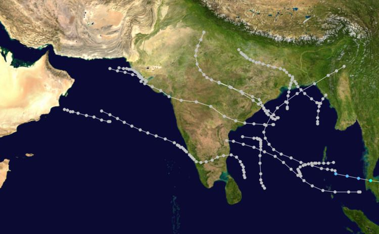 1962 North Indian Ocean cyclone season