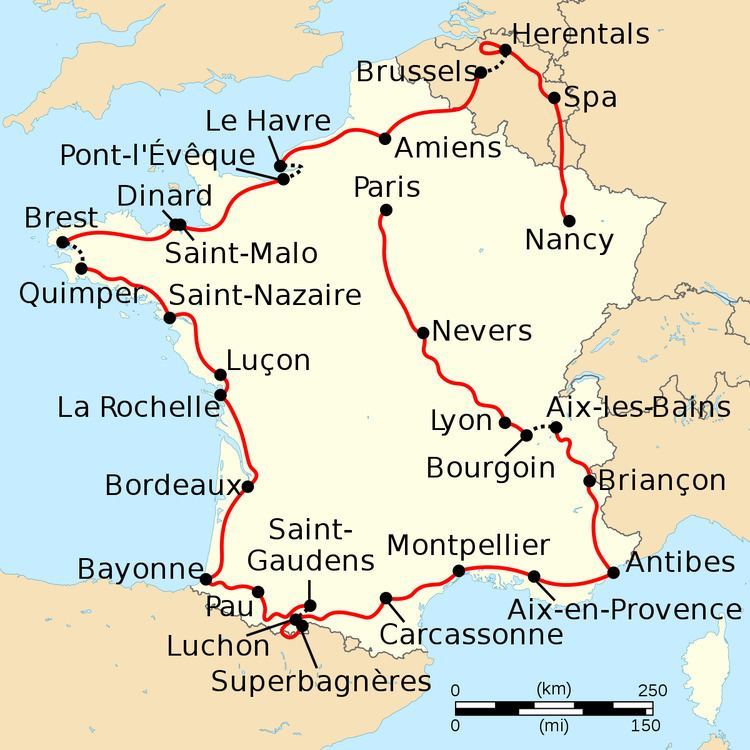 1962 Tour de France, Stage 1 to Stage 10
