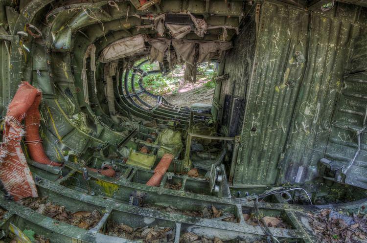 1963 Elephant Mountain B-52 crash B52 crash site miketully