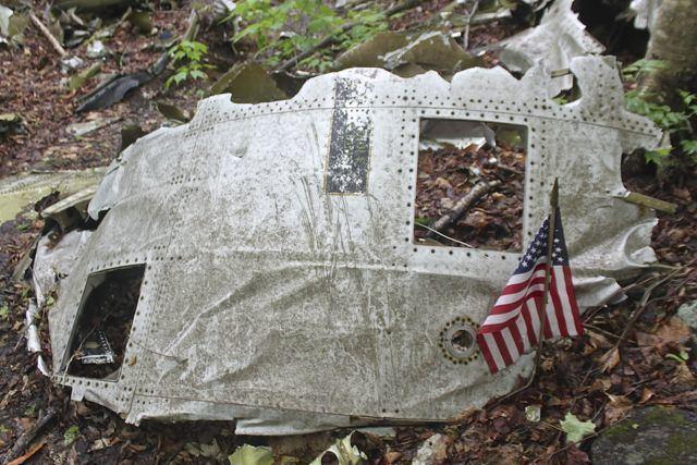1963 Elephant Mountain B-52 crash 1minute hike B52 crash site near Moosehead Lake Act Out with