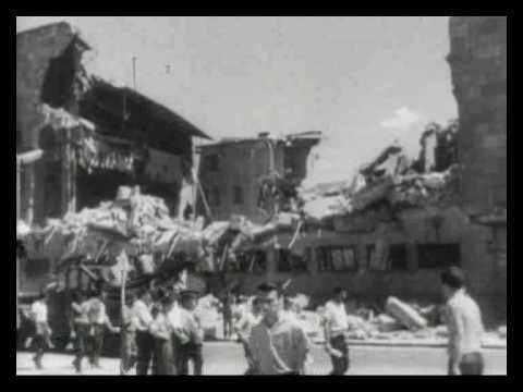 1963 Skopje earthquake The 1963 Skopje Earthquake in Yugoslavia YouTube