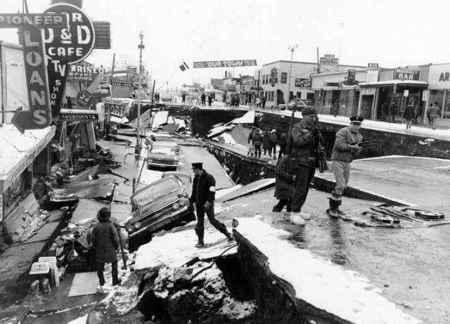 1964 Alaska earthquake 1000 ideas about 1964 Alaska Earthquake on Pinterest Nome alaska