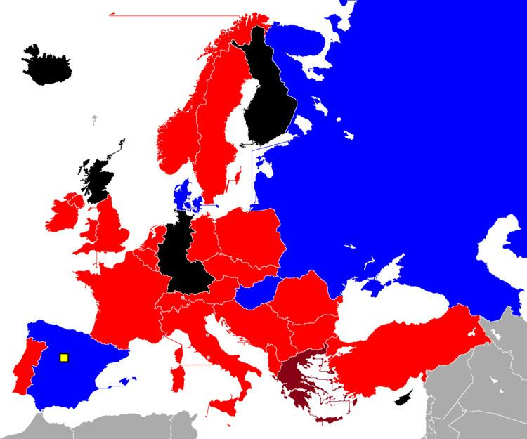 1964 European Nations' Cup qualifying