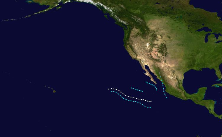 1964 Pacific hurricane season
