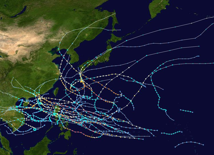 1964 Pacific typhoon season