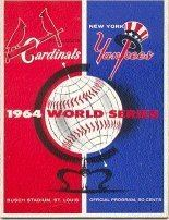 1964 World Series wwwbaseballalmanaccomimages1964wsprogramjpg