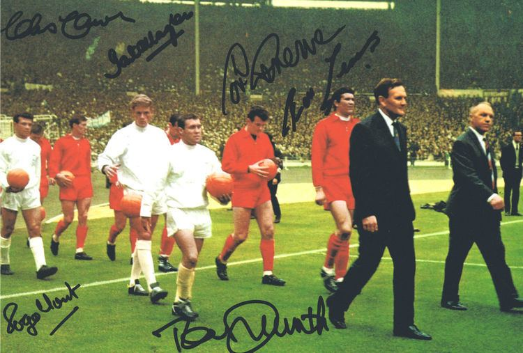 1965 FA Cup Final Signed Liverpool 1965 FA Cup Final Autograph Photo Its Signed