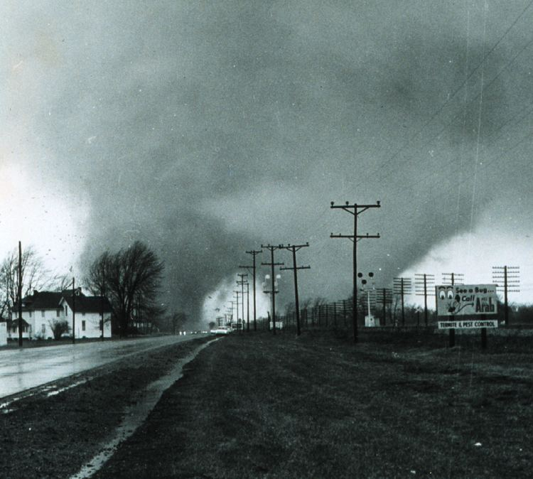 1965 Palm Sunday tornado outbreak 1965 Palm Sunday tornado outbreak Wikipedia