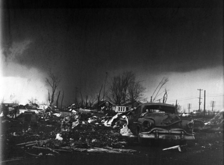 1965 Palm Sunday tornado outbreak April 11 1965 Palm Sunday Outbreak Stormstalker