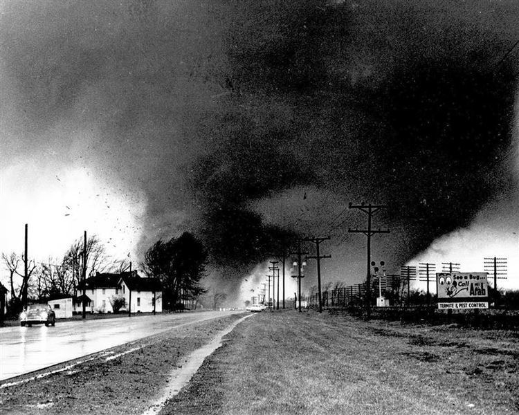 1965 Palm Sunday tornado outbreak April 11th 1965 Palm Sunday Tornado Outbreak