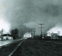 1966 Candlestick Park tornado List of North American tornadoes and tornado outbreaks Tornado