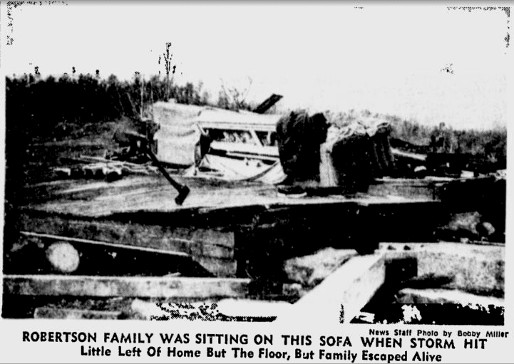 1966 Candlestick Park tornado Skywatcher Ron Hughes Remembers A Bad Tornado The Alabama Weather Blog