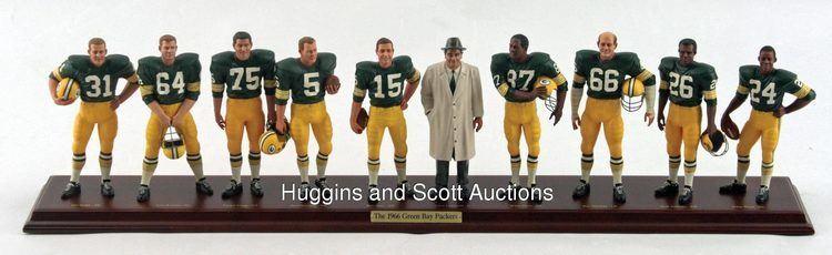 1966 Green Bay Packers season Danbury Mint 1966 Green Bay Packers Display