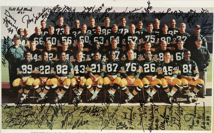 1966 Green Bay Packers season Lot Detail 1966 Green Bay Packers Team Signed Poster Honoring