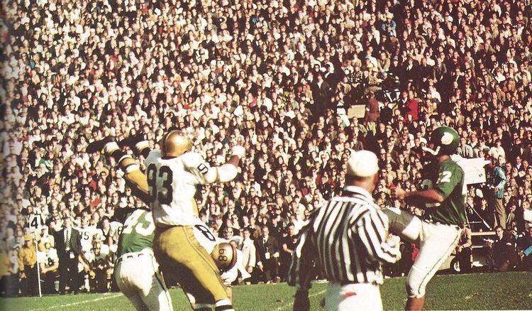 1966 Notre Dame vs. Michigan State football game