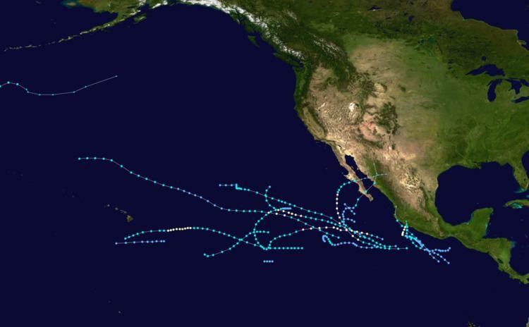1966 Pacific hurricane season