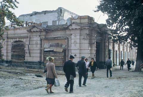 1966 Tashkent earthquake Remnants of April 1966 Earthquake Tashkent Uzbekistan Russia