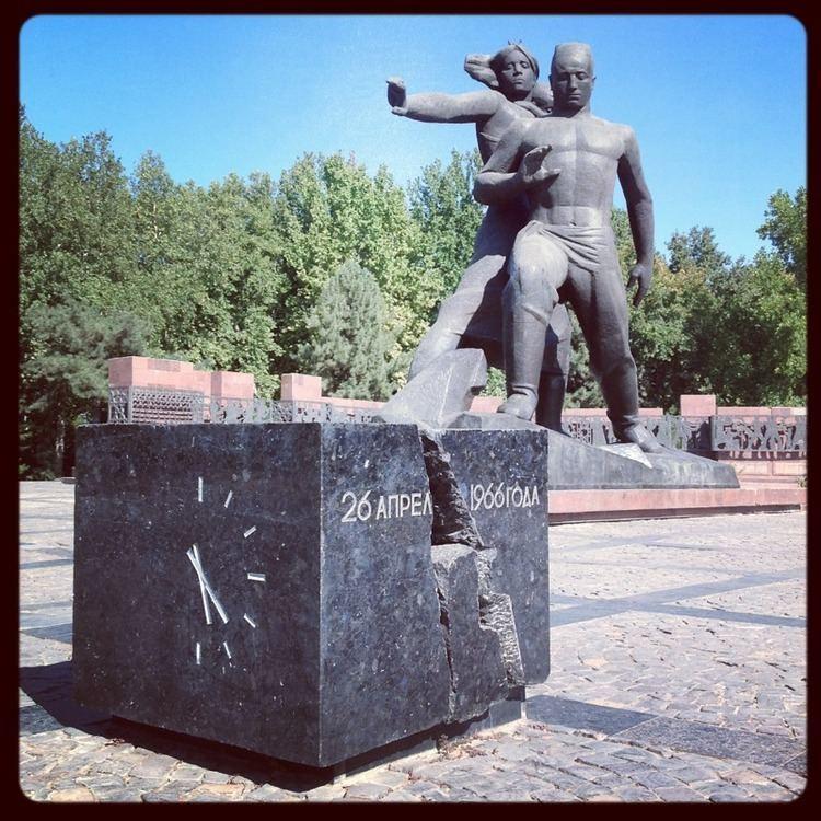 1966 Tashkent earthquake a memorial to the 1966 tashkent earthquake flying north