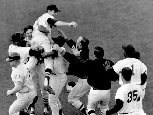 1967 Boston Red Sox season October 1 1967 Red Sox complete 39Impossible Dream39 Society for