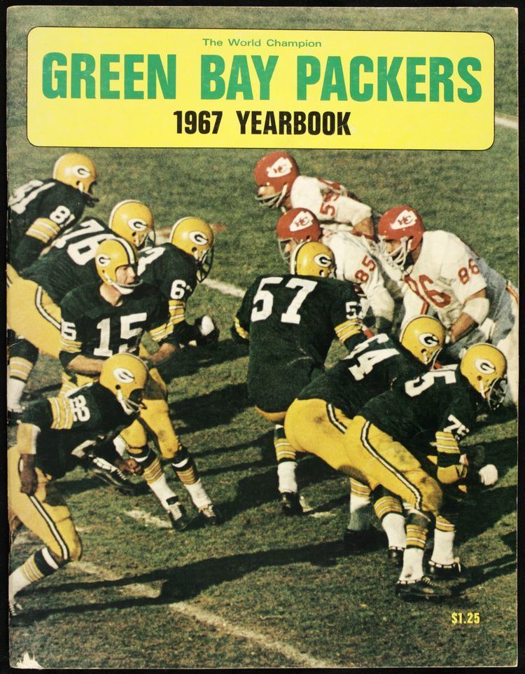 1967 Green Bay Packers season Lot Detail 1967 Green Bay Packer Packers Team Yearbook With Super