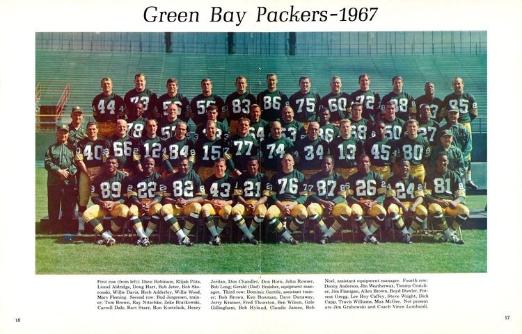 1967 Green Bay Packers season PACKERVILLE USA 1967 Championship Coverage