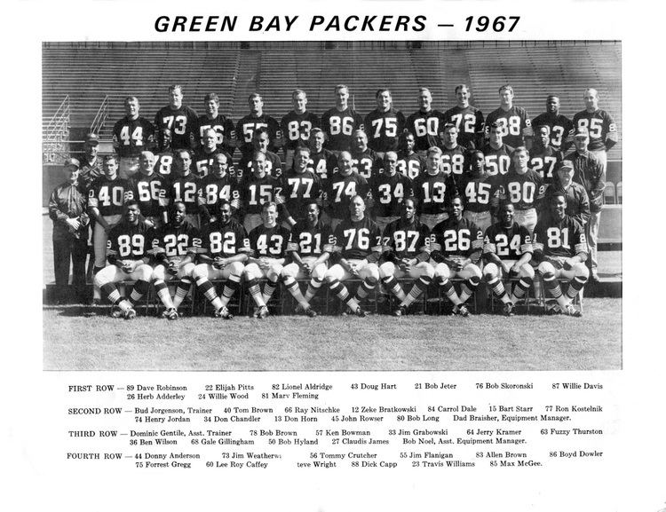1967 Green Bay Packers season PACKERVILLE USA December 2012