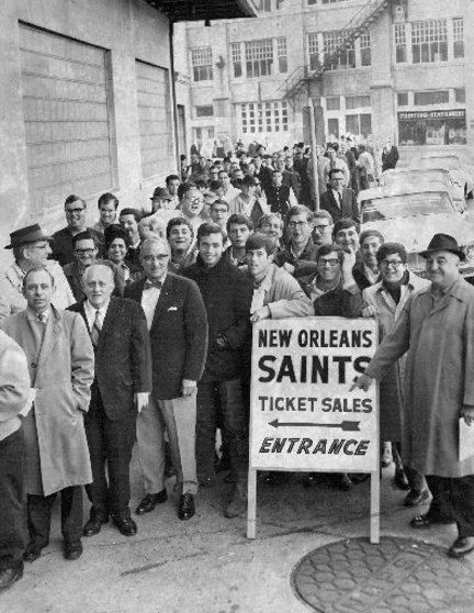 1967 New Orleans Saints season New Orleans Saints photos year one 1967 NOLAcom