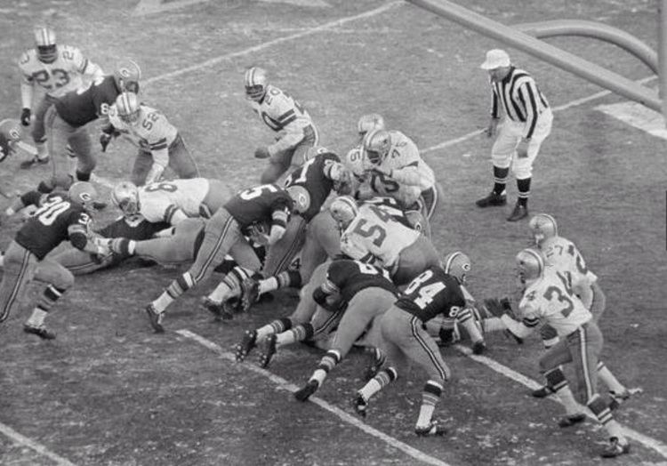1967 NFL Championship Game News Jerry Kramer