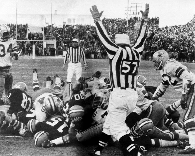 1967 NFL Championship Game The 1967 NFL Playoffs The Ice Bowl And The First Real Post Season