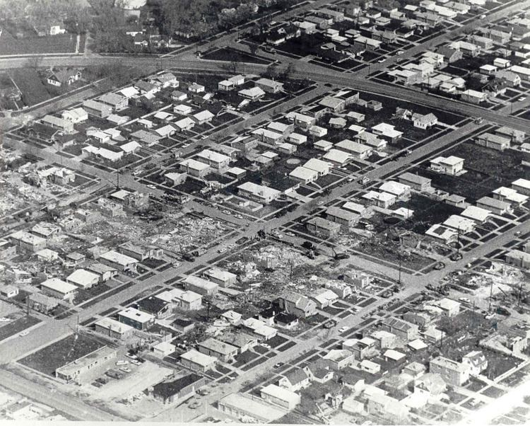 1967 Oak Lawn tornado outbreak wwwweathergovimageslotpastevents1967AprTorna