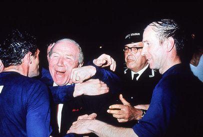 1968 European Cup Final Matt Busby 1968 European Cup Final Manchester United v Benfica