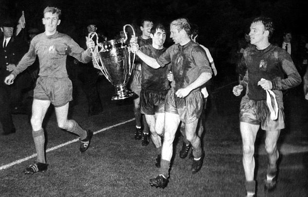 1968 European Cup Final Manchester United invite European Cup heroes of 1968 to Wembley